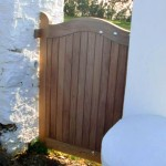 Gate Solid Wood